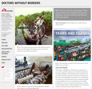 Doctors Without Borders on Tumblr