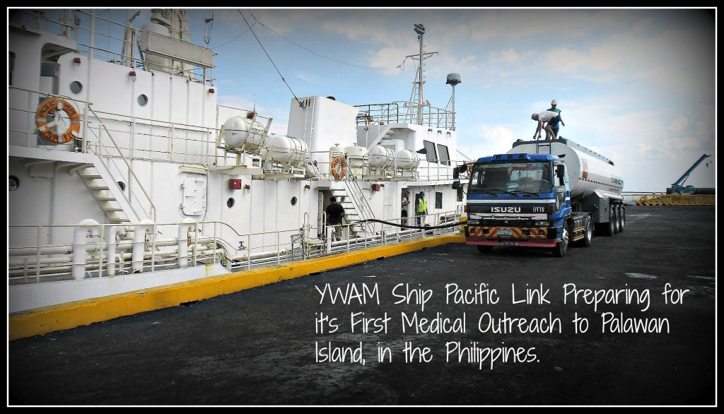 YWAM Ship MV Pacific Link First Outreach